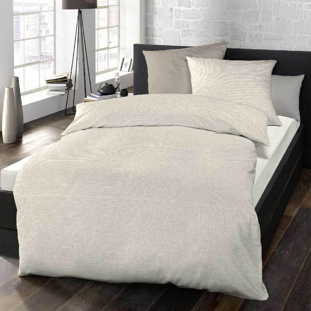 schlafgut mako satin bettw sche lipari kokos g nstig online kaufen bei bettwaren shop. Black Bedroom Furniture Sets. Home Design Ideas