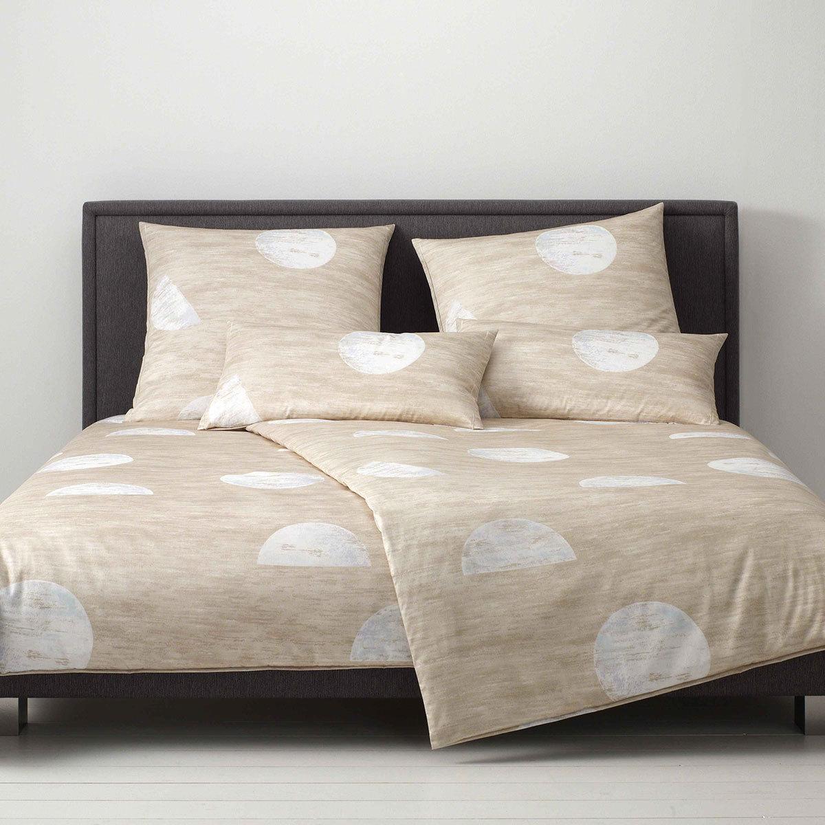 Bettwaren-Shop Mako-Satin Bettwäsche Mond