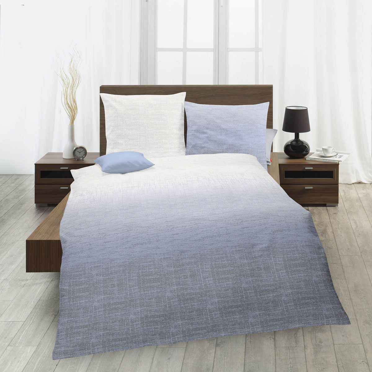 fleuresse mako satin bettw sche modern life 113779 0002. Black Bedroom Furniture Sets. Home Design Ideas