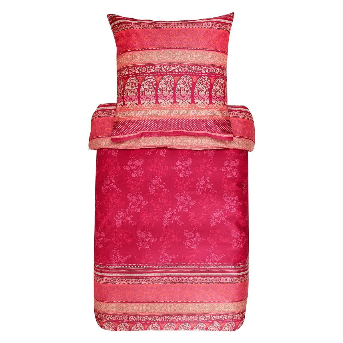 Bassetti Mako Satin Bettwäsche Monte Rosa V1 Günstig Online Kaufen