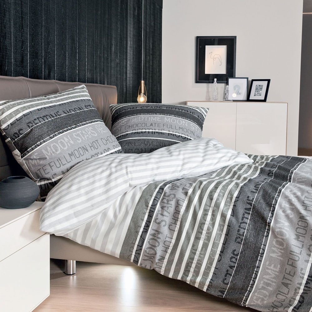 janine mako satin bettw sche palermo 3076 08 g nstig online kaufen bei bettwaren shop. Black Bedroom Furniture Sets. Home Design Ideas