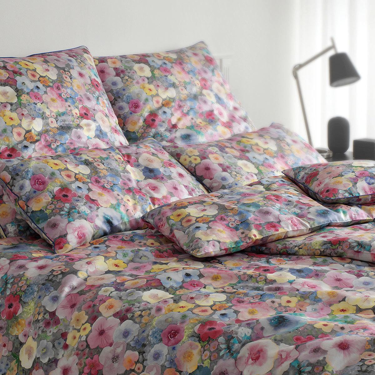 elegante Mako-Satin Bettwäsche Pinto multicolor