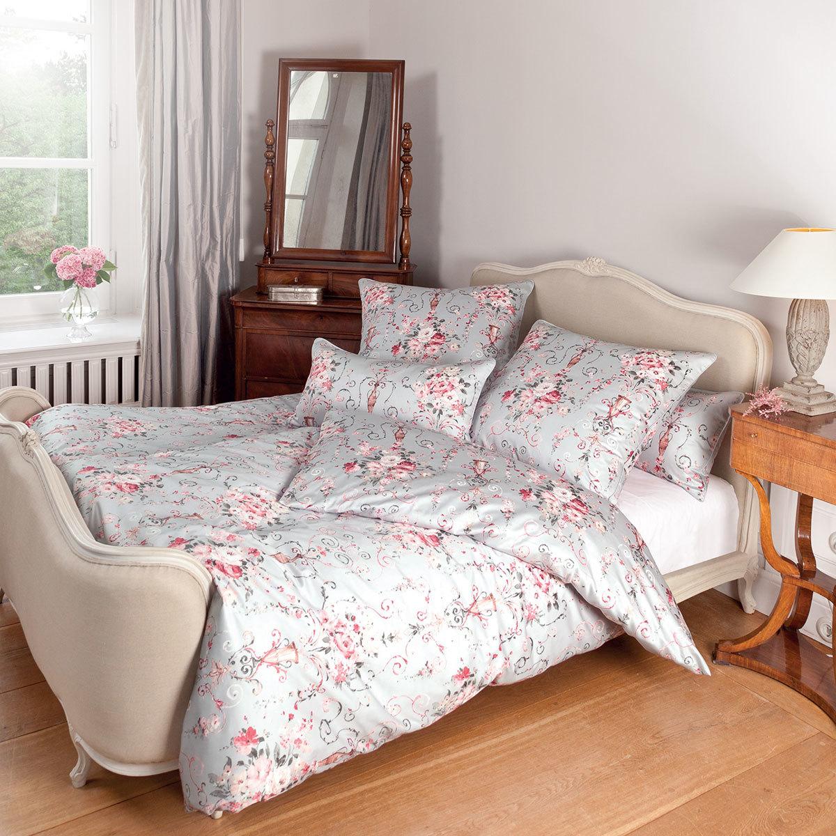 janine mako satin bettw sche romantico 46000 01 g nstig online kaufen bei bettwaren shop. Black Bedroom Furniture Sets. Home Design Ideas