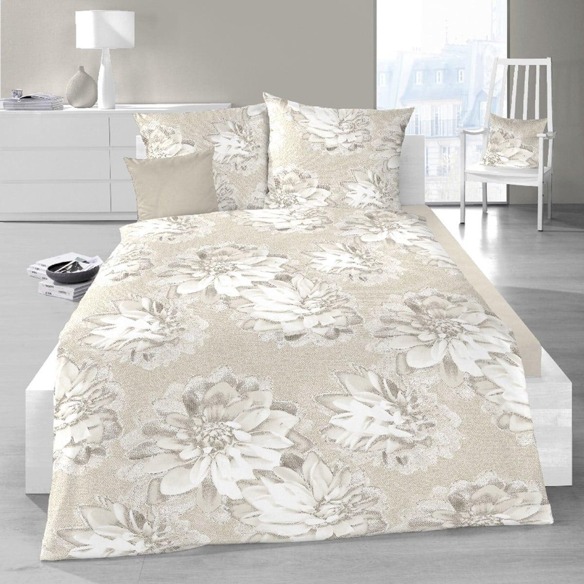 Schlafgut Mako-Satin Bettwäsche Sesimbra natural silk