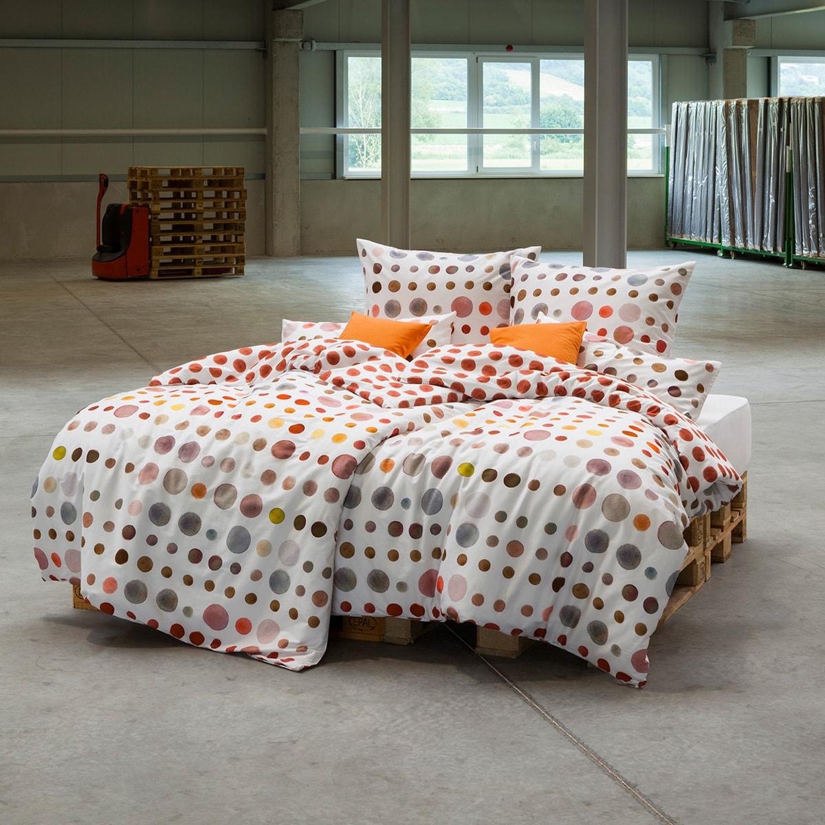 estella mako satin bettw sche spot ziegel g nstig online kaufen bei bettwaren shop. Black Bedroom Furniture Sets. Home Design Ideas