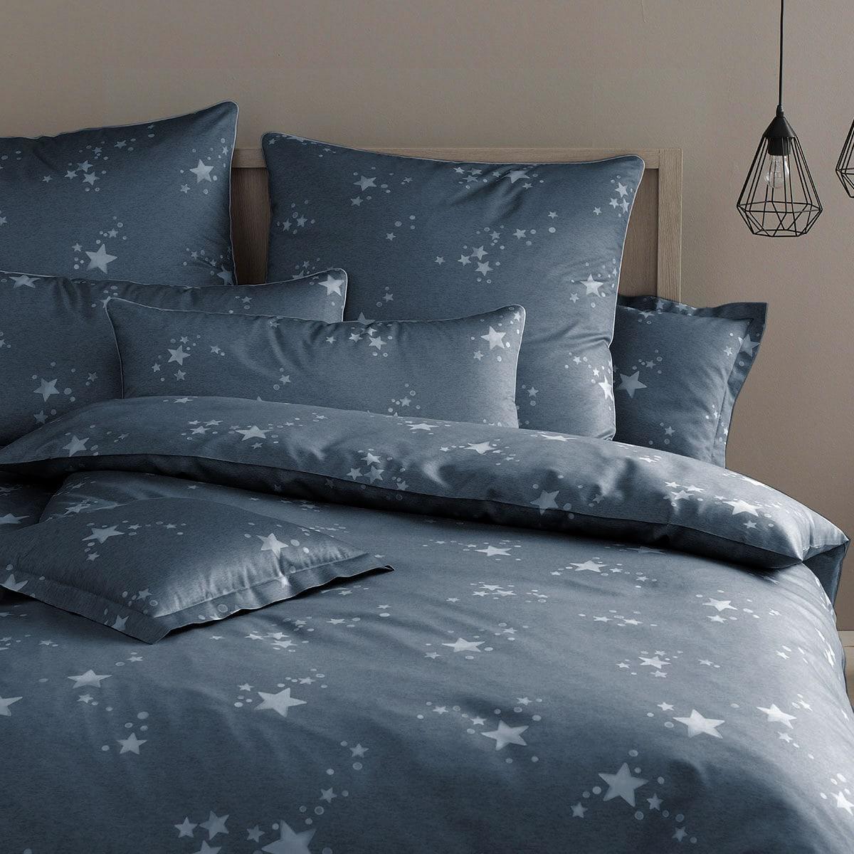 elegante mako satin bettw sche startime jeans g nstig. Black Bedroom Furniture Sets. Home Design Ideas