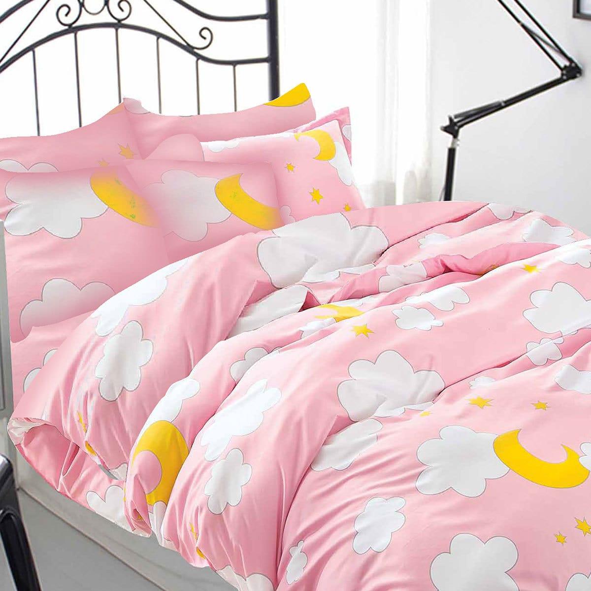 Bettwarenshop Mako Satin Bettwäsche Wolken Günstig Online Kaufen Bei