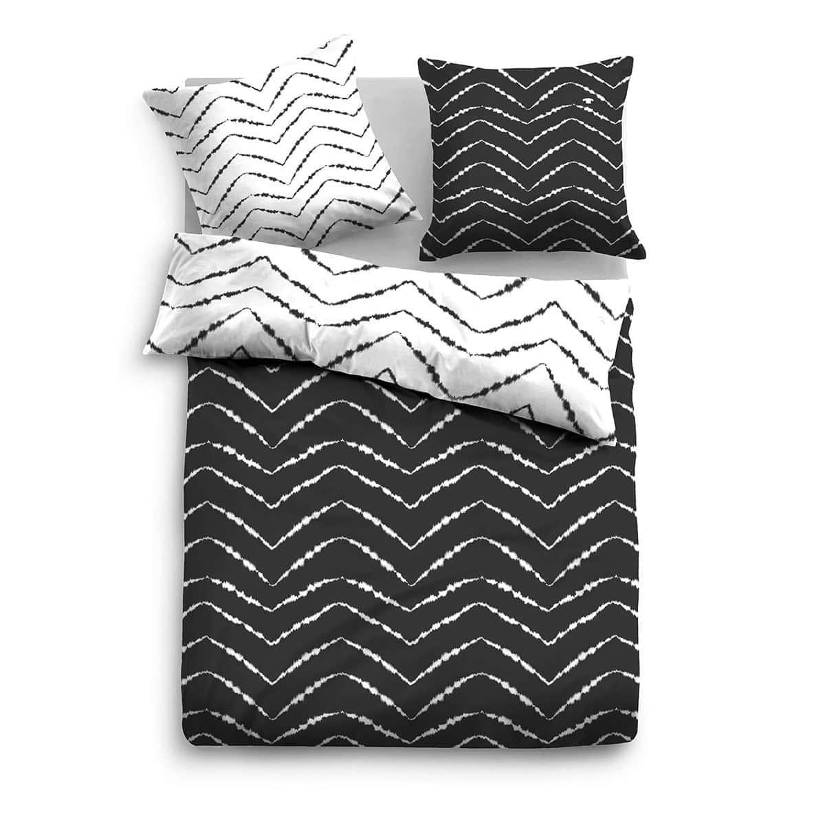 tom tailor mako satin wendebettw sche 69845 821 black g nstig online kaufen bei bettwaren shop. Black Bedroom Furniture Sets. Home Design Ideas