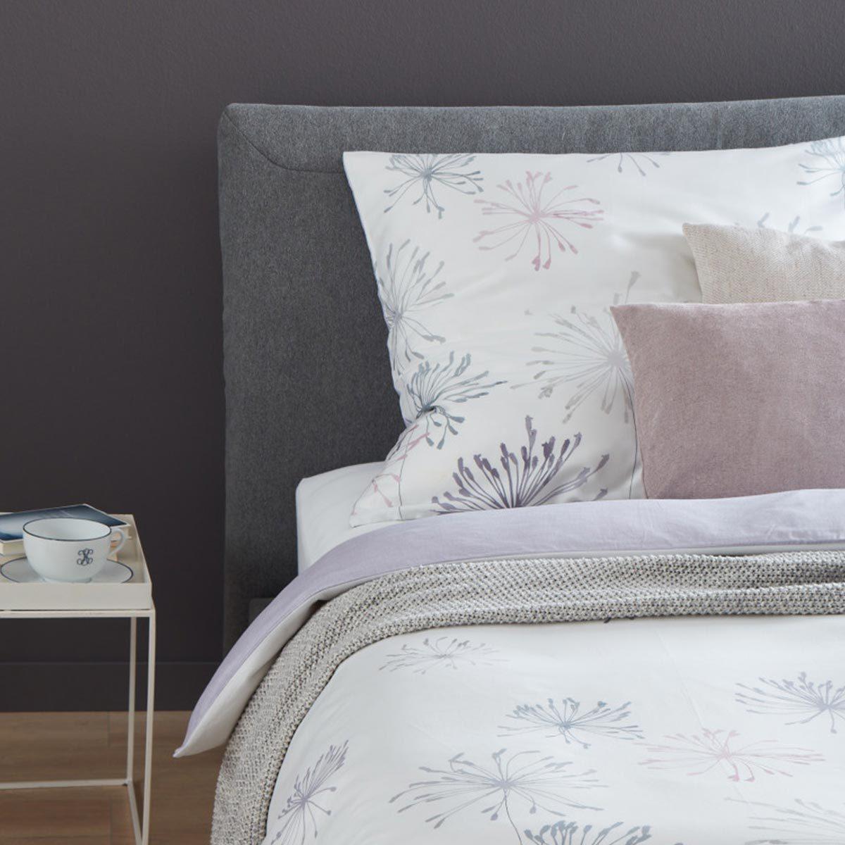 sch ner wohnen mako satin wendebettw sche marge b rose g nstig online kaufen bei bettwaren shop. Black Bedroom Furniture Sets. Home Design Ideas