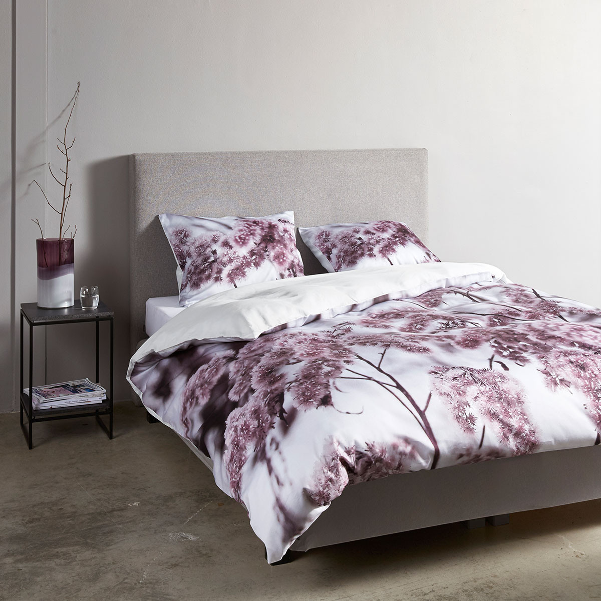 essenza mako satin wendebettw sche phine red g nstig online kaufen bei bettwaren shop. Black Bedroom Furniture Sets. Home Design Ideas