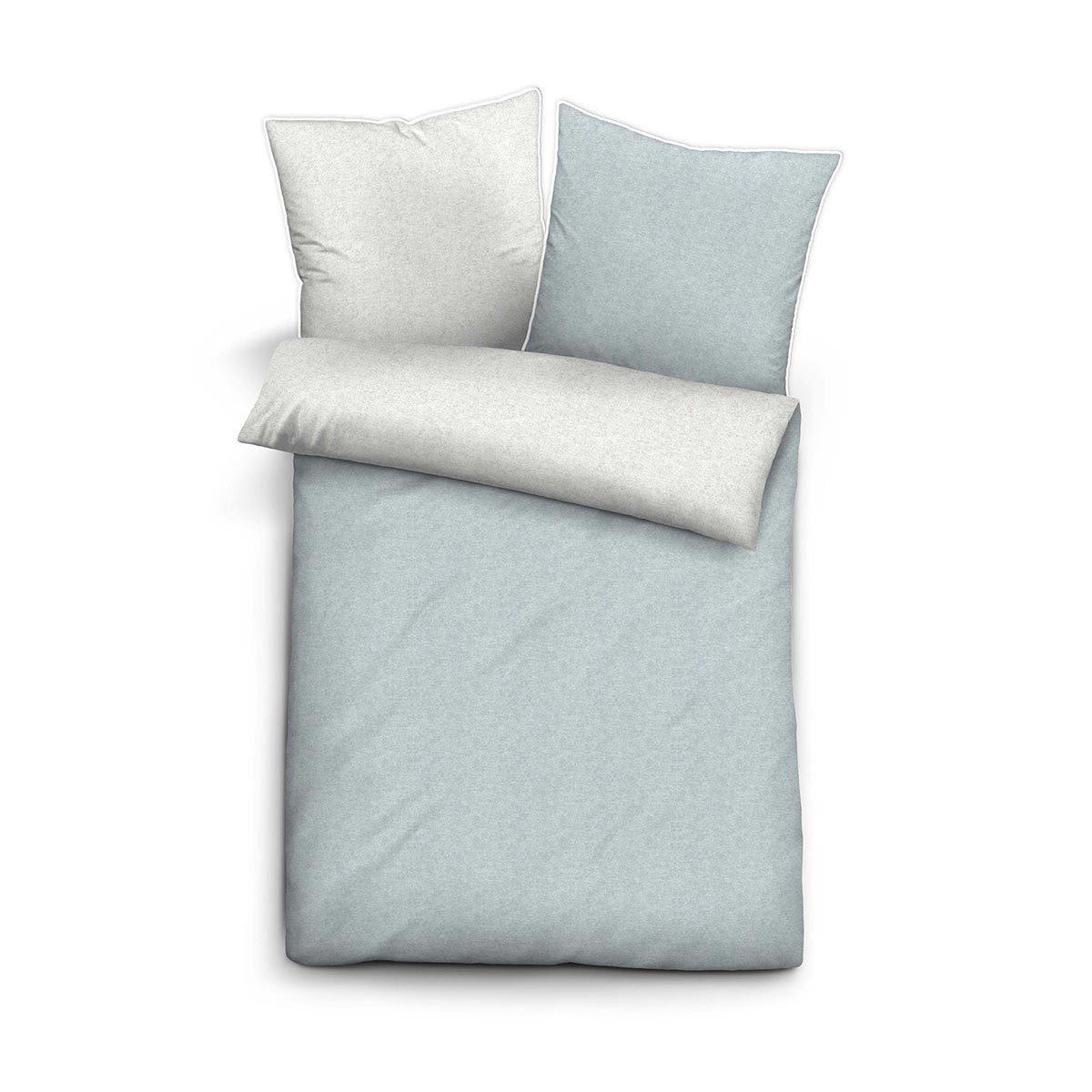 biberna melange flanell bettw sche 840500 222 g nstig online kaufen bei bettwaren shop. Black Bedroom Furniture Sets. Home Design Ideas