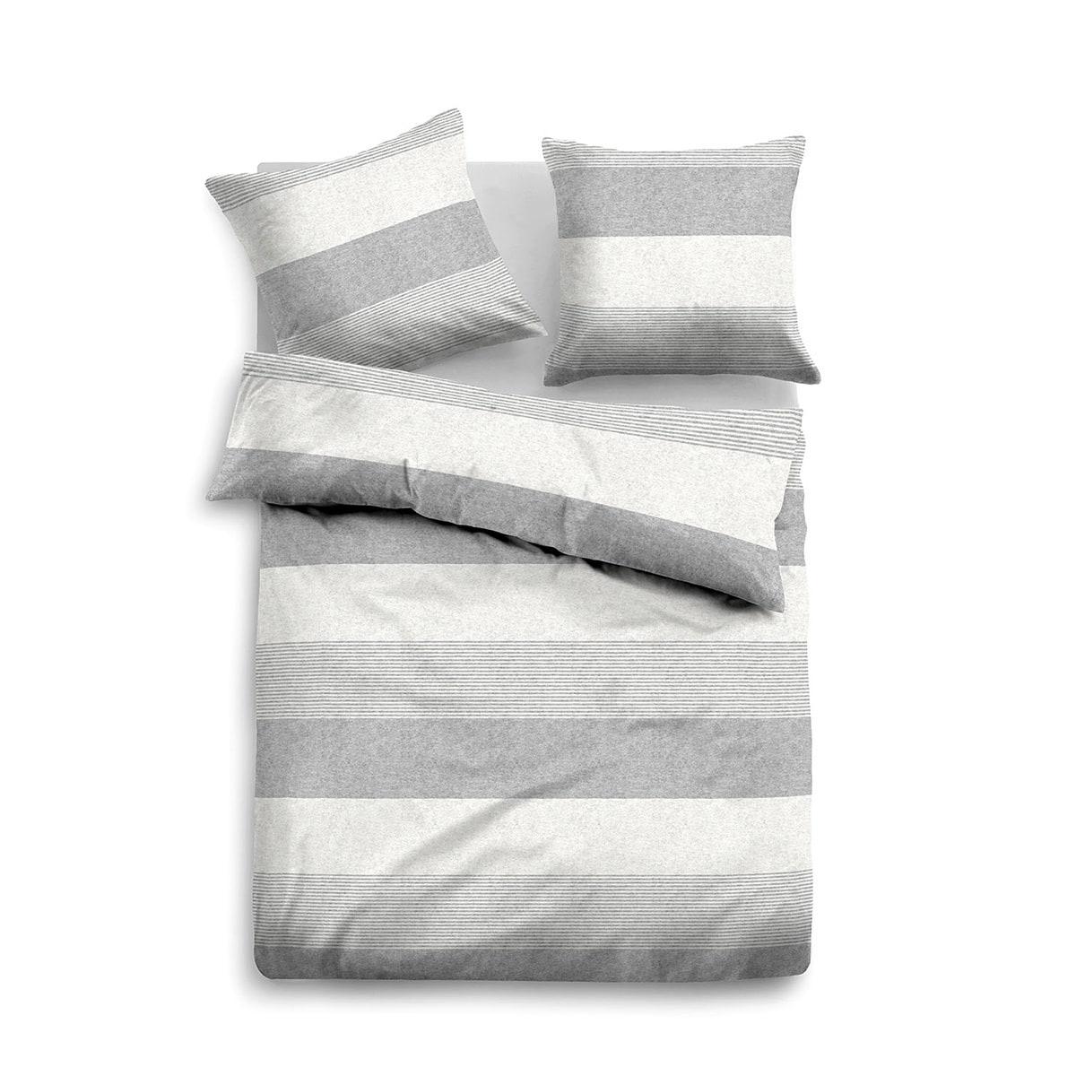 tom tailor melange flanell bettw sche 849790 844 g nstig online kaufen bei bettwaren shop. Black Bedroom Furniture Sets. Home Design Ideas