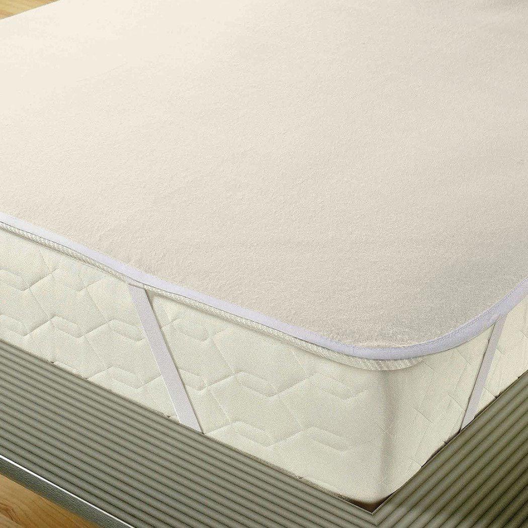 bettwarenshop molton matratzenauflage aus 100 baumwolle kochfest g nstig online kaufen bei. Black Bedroom Furniture Sets. Home Design Ideas