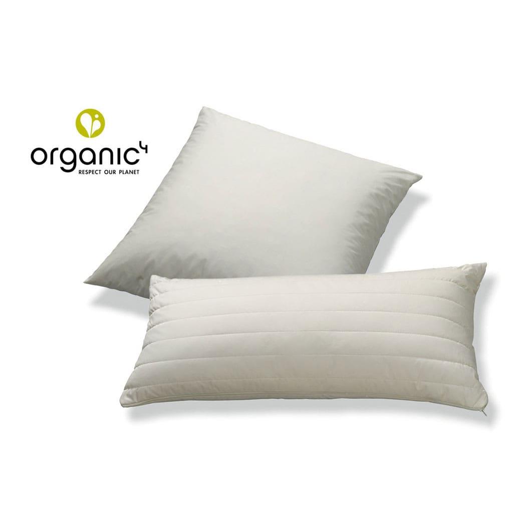 sanders organic4 down bio daunenkissen g nstig online kaufen bei bettwaren shop. Black Bedroom Furniture Sets. Home Design Ideas