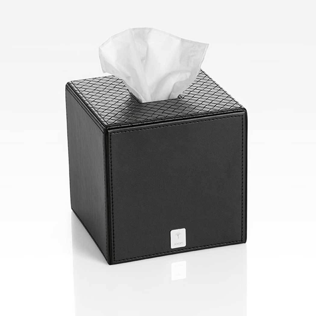 JOOP Papiertuchbox Bathline schwarz, quadratisch
