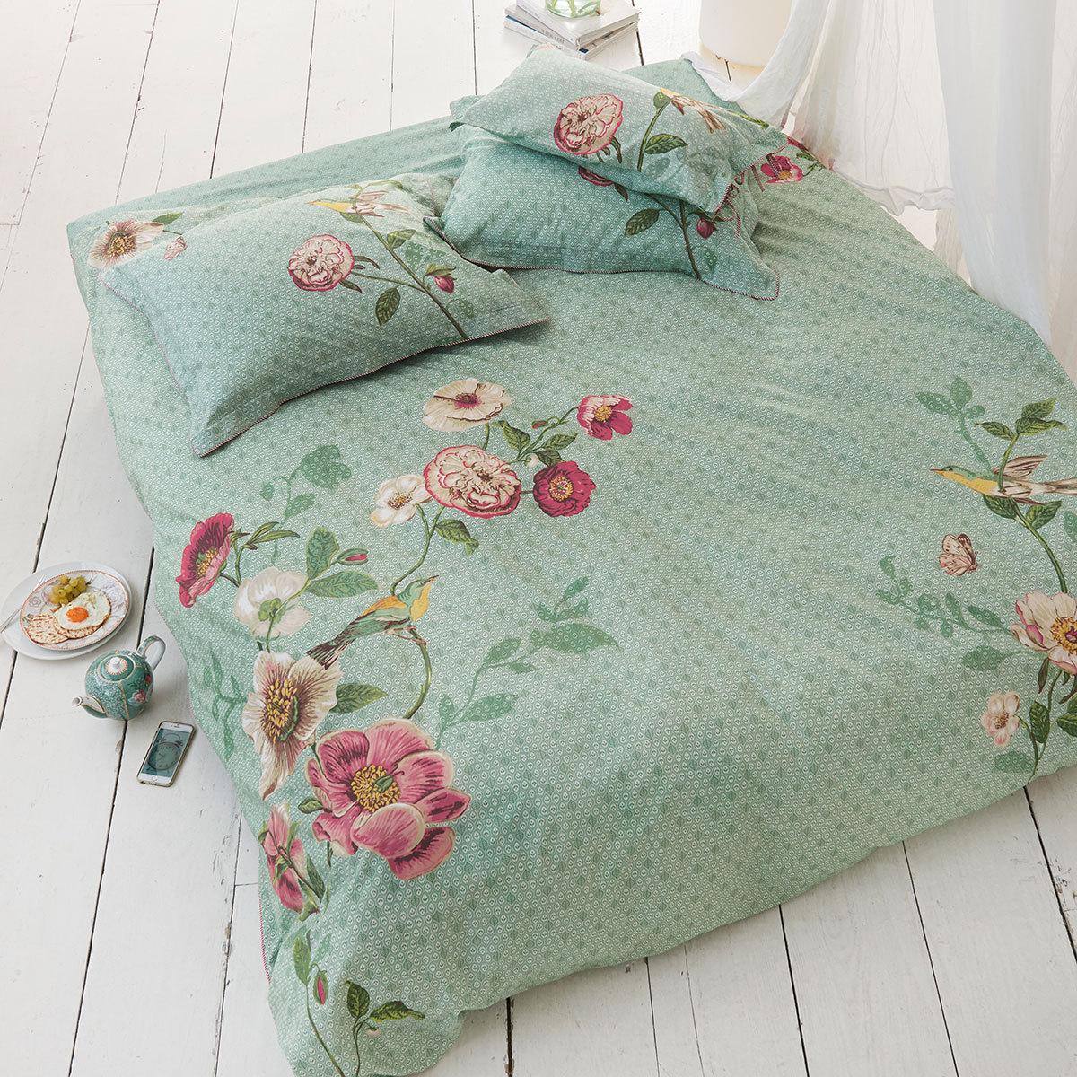 pip studio perkal wendebettw sche pip poppy green g nstig online kaufen bei bettwaren shop. Black Bedroom Furniture Sets. Home Design Ideas