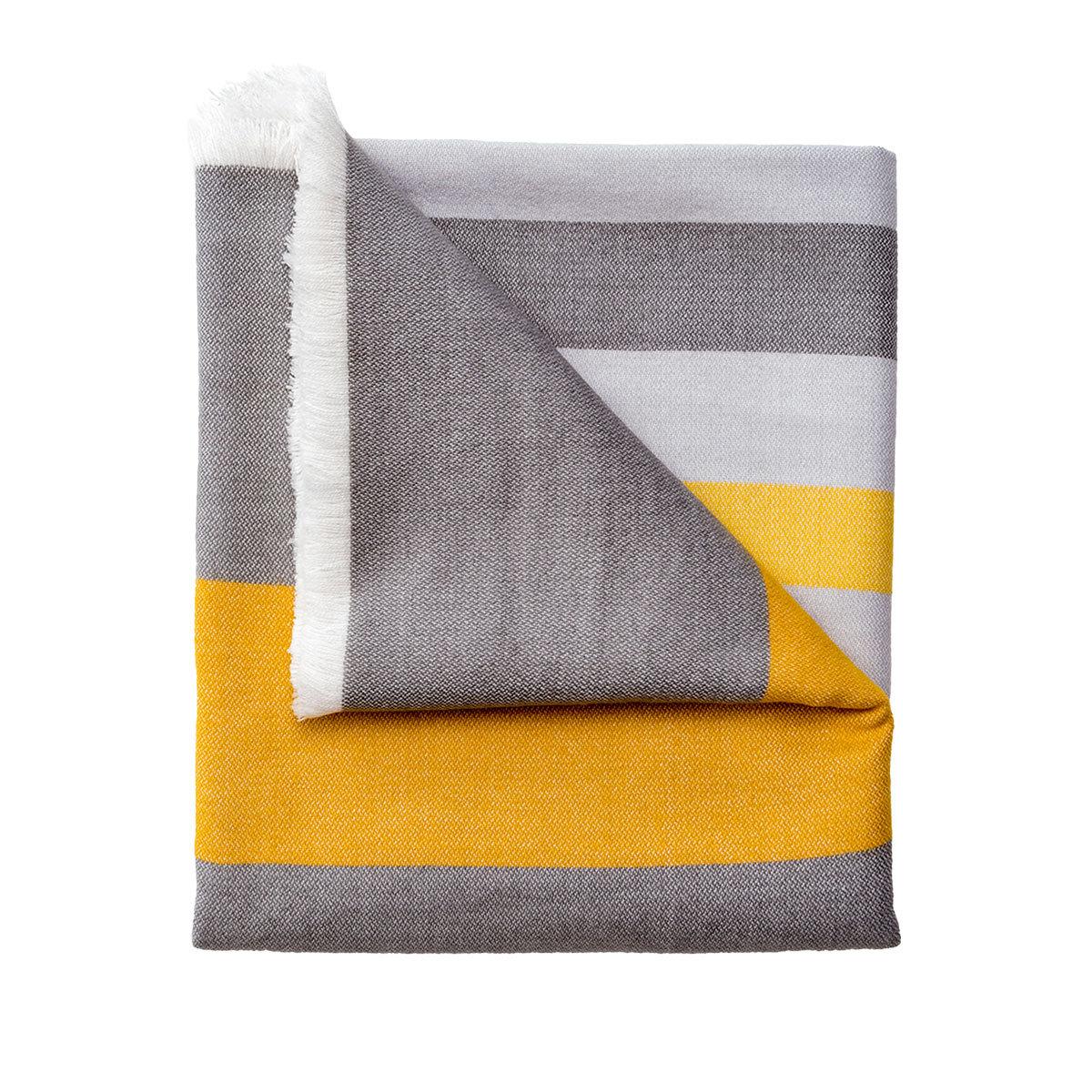 rabatt sch ner wohnen plaid liam gelb. Black Bedroom Furniture Sets. Home Design Ideas
