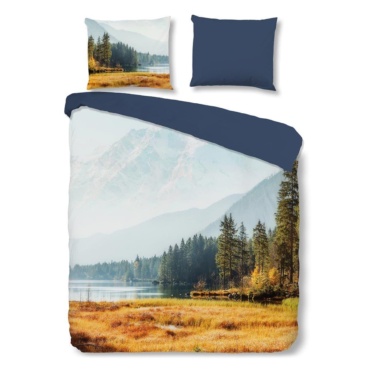 Traumschlaf Renforcé Bettwäsche Wald und Berge