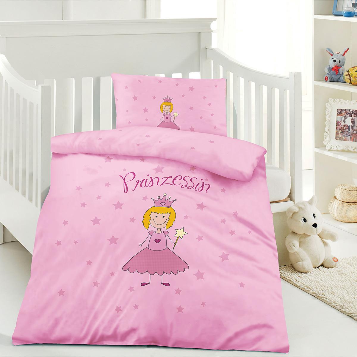 Optidream Renforcé Kinderbettwäsche Prinzessin