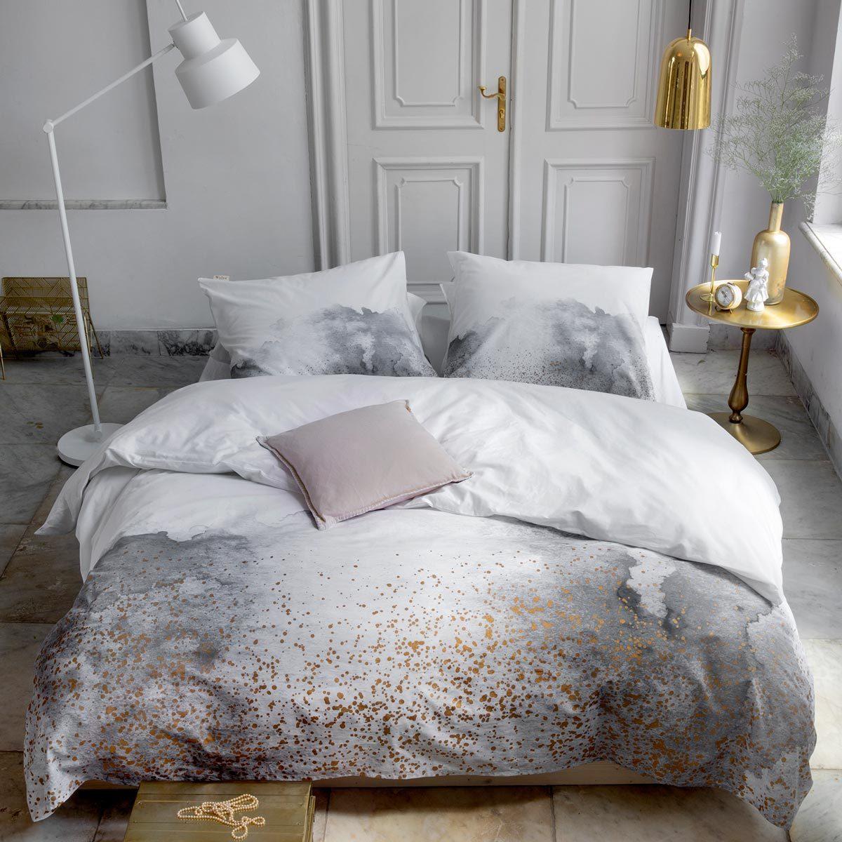 Walra Renforce Bettwäsche Touch Of Gold Weiß Günstig Online Kaufen