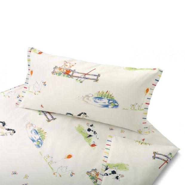 cotonea satin bettw sche auf dem lande g nstig online. Black Bedroom Furniture Sets. Home Design Ideas