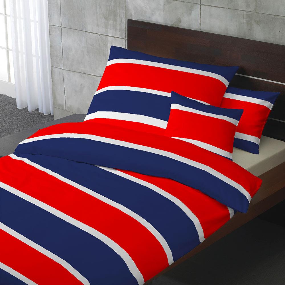 hahn satin bettw sche marko stripes blau g nstig online kaufen bei bettwaren shop. Black Bedroom Furniture Sets. Home Design Ideas