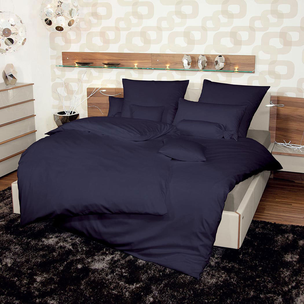 janine schweizer mako satin bettw sche monaco anthrazit g nstig online kaufen bei bettwaren shop. Black Bedroom Furniture Sets. Home Design Ideas