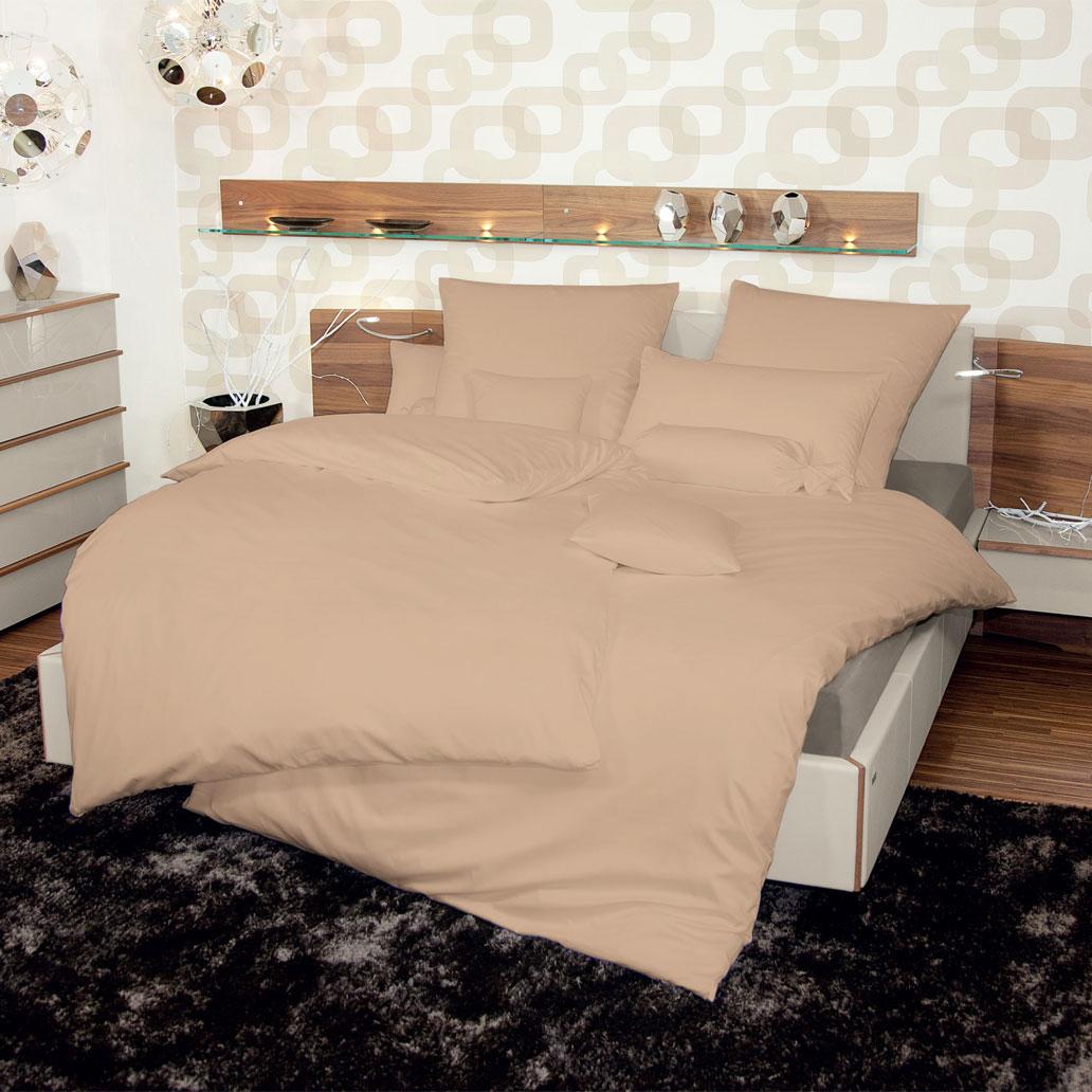 janine schweizer mako satin bettw sche monaco champagner g nstig online kaufen bei bettwaren shop. Black Bedroom Furniture Sets. Home Design Ideas