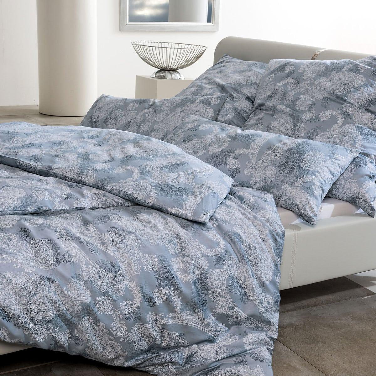 estella schweizer premium satin bettw sche amelie taube g nstig online kaufen bei bettwaren shop. Black Bedroom Furniture Sets. Home Design Ideas