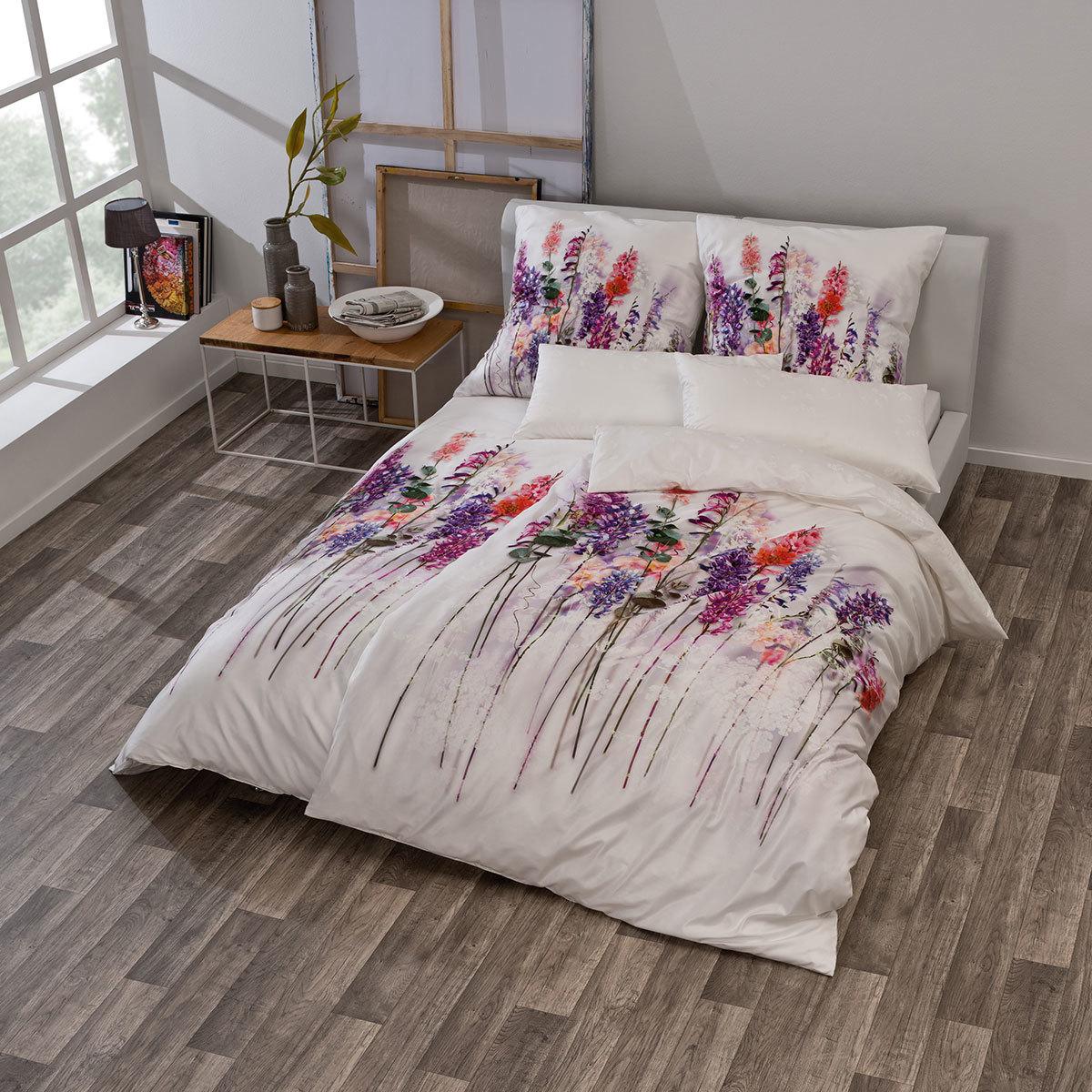 estella schweizer premium satin bettw sche liyana multicolor g nstig online kaufen bei bettwaren. Black Bedroom Furniture Sets. Home Design Ideas