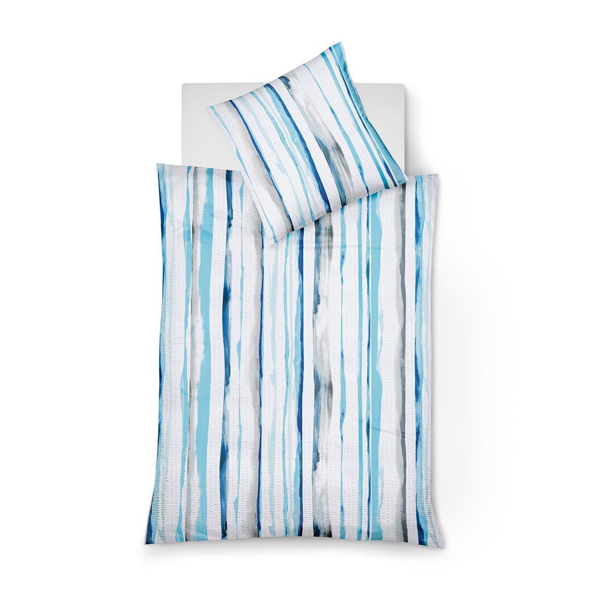 fleuresse seersucker bettw sche bali 493838 02 g nstig online kaufen bei bettwaren shop. Black Bedroom Furniture Sets. Home Design Ideas