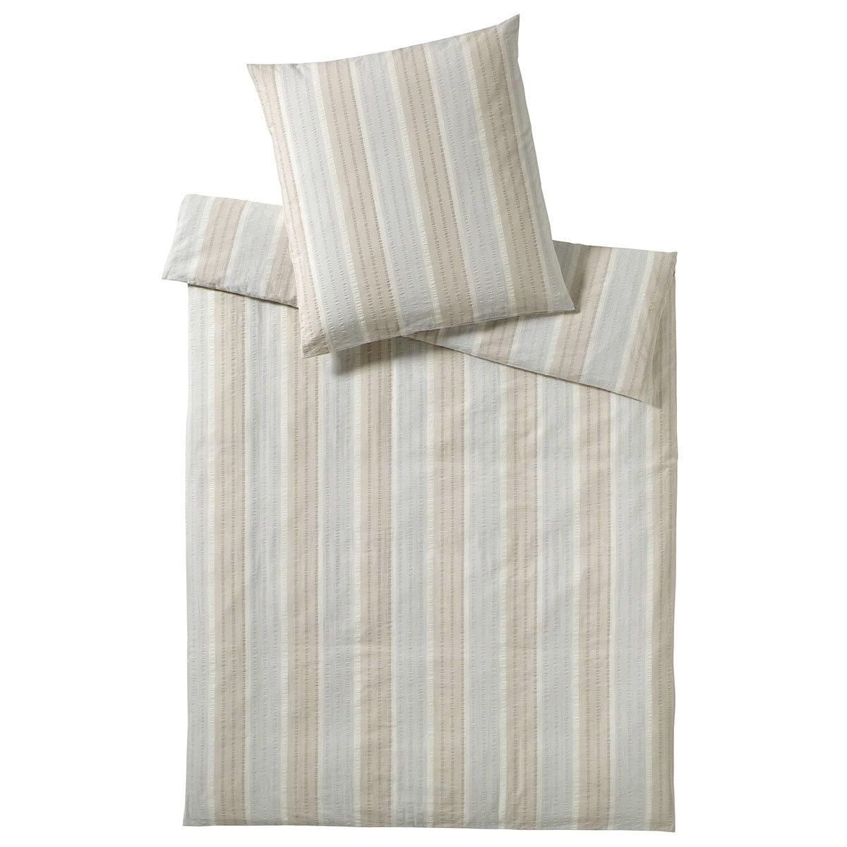 elegante seersucker bettw sche richmond sand g nstig online kaufen bei bettwaren shop. Black Bedroom Furniture Sets. Home Design Ideas