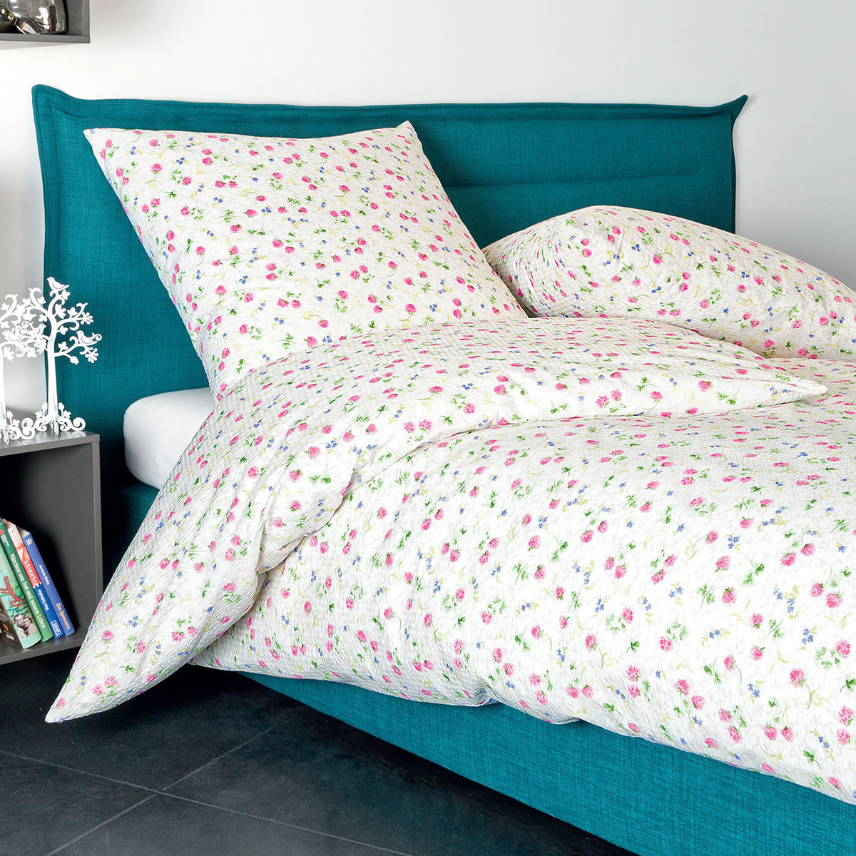 janine seersucker bettw sche tango 20031 01 fuchsienrosa fliederblau g nstig online kaufen bei. Black Bedroom Furniture Sets. Home Design Ideas