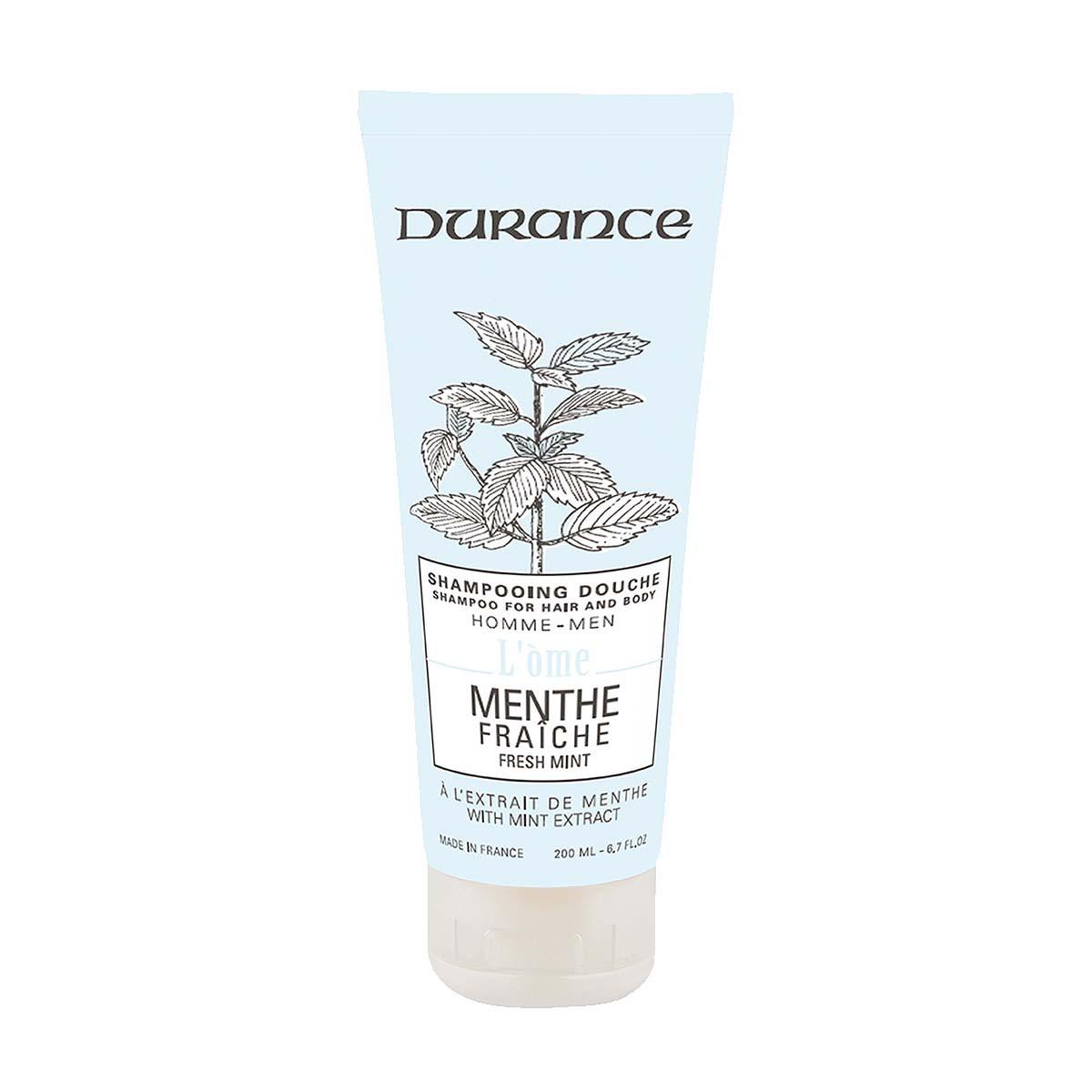 Durance Shampoo und Dusche Frische Minze mit Minzextrakt