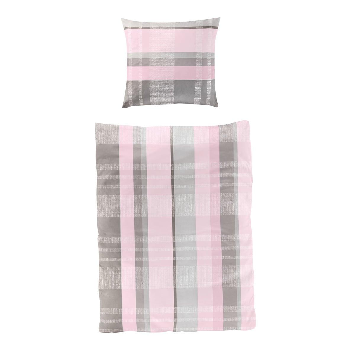 bierbaum single jersey bettw sche 3017 rosa g nstig online kaufen bei bettwaren shop. Black Bedroom Furniture Sets. Home Design Ideas