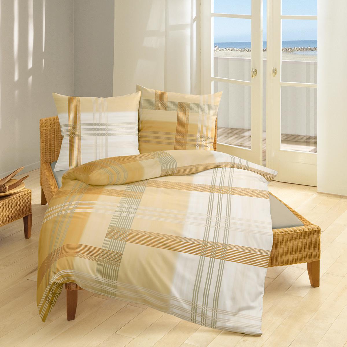 Bierbaum Single Jersey Bettwäsche 3104 Gold Günstig Online Kaufen