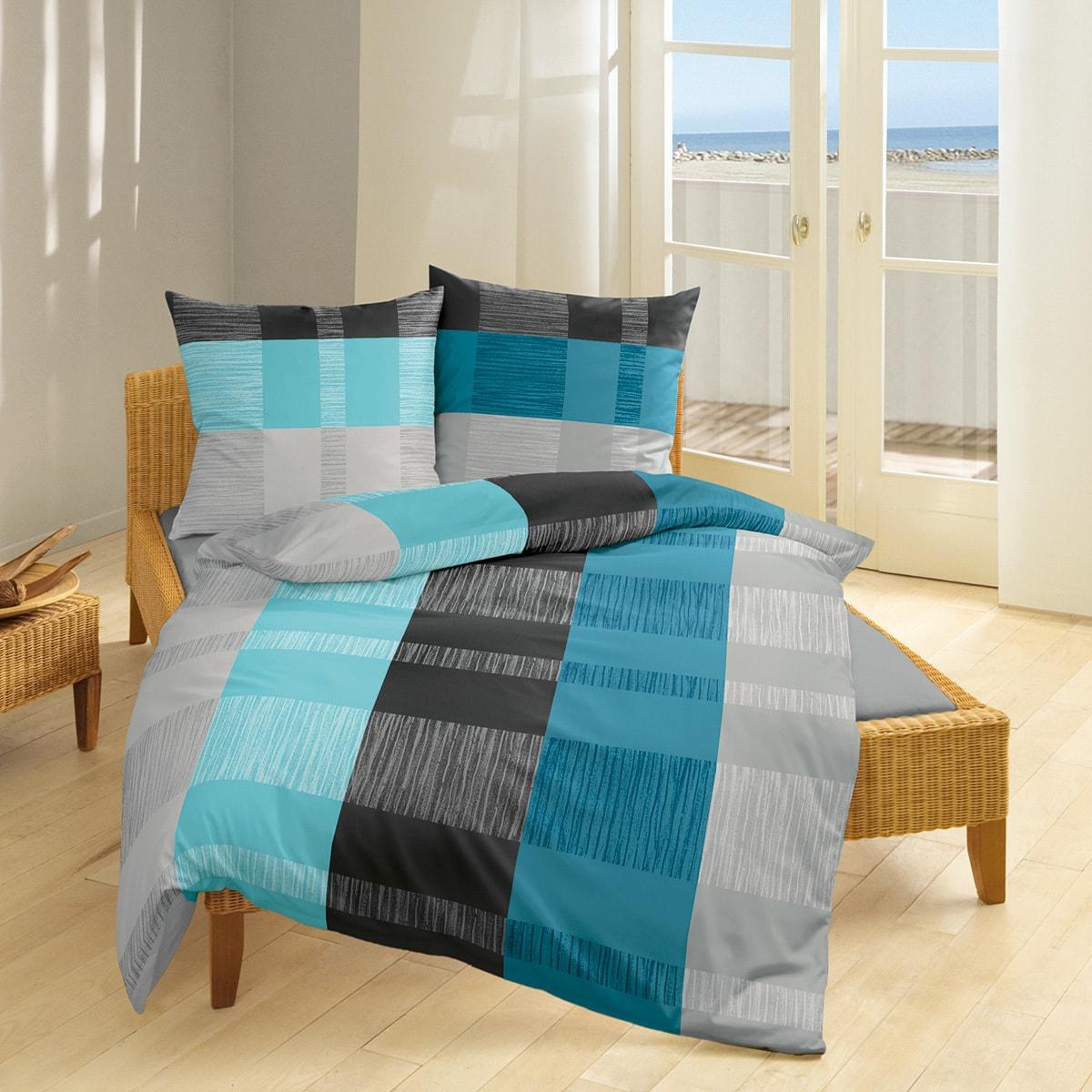 bierbaum single jersey bettw sche 3105 t rkis g nstig online kaufen bei bettwaren shop. Black Bedroom Furniture Sets. Home Design Ideas