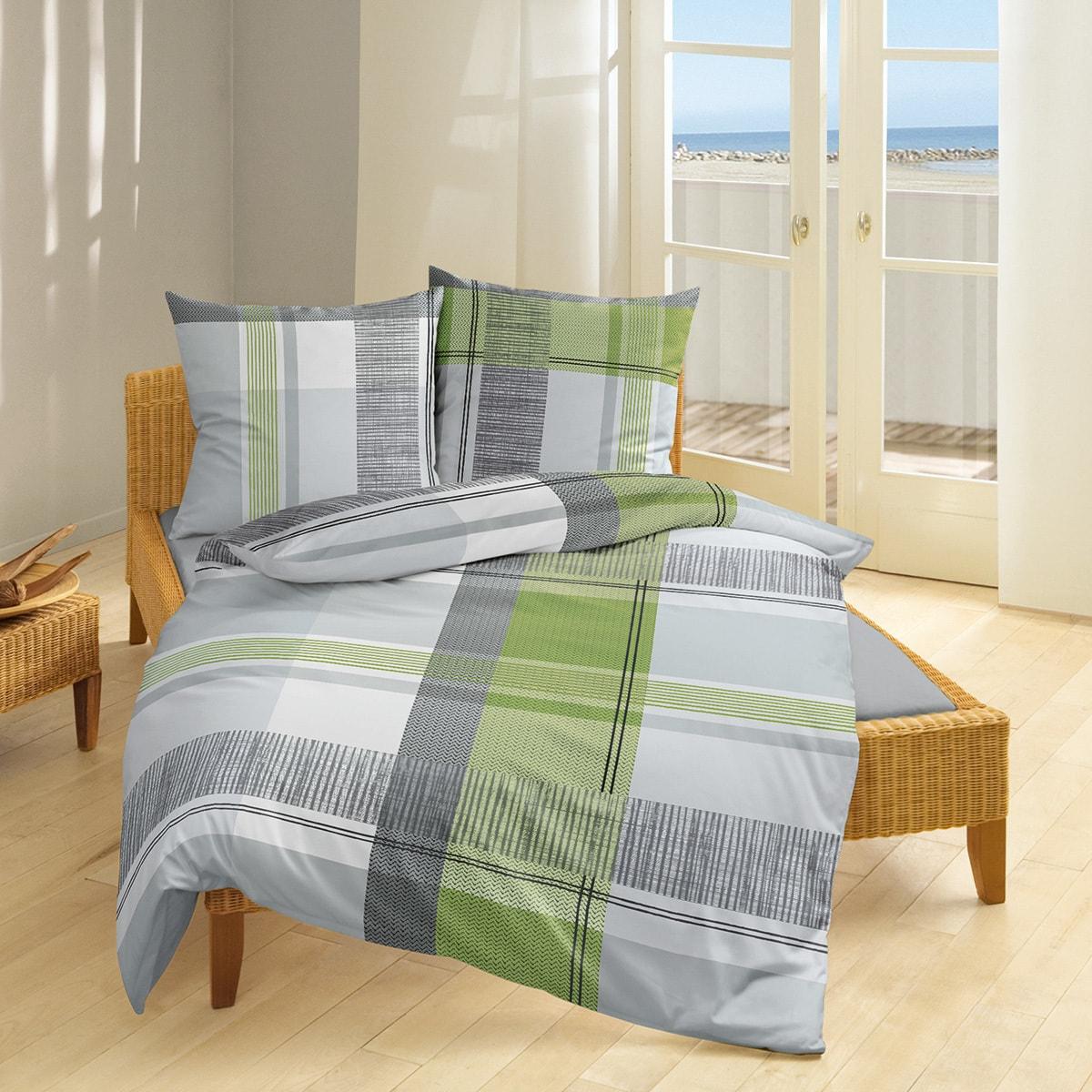Bierbaum Single Jersey Bettwäsche 3148 kiwi günstig online kaufen ...