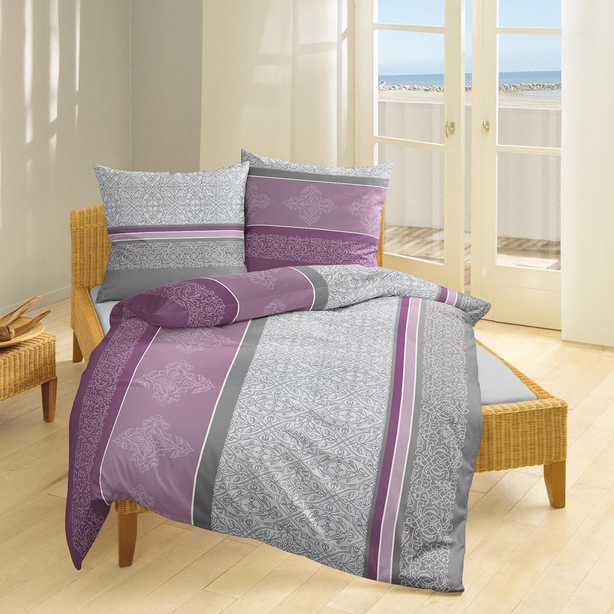 bierbaum single jersey bettw sche 6197 flieder g nstig online kaufen bei bettwaren shop. Black Bedroom Furniture Sets. Home Design Ideas