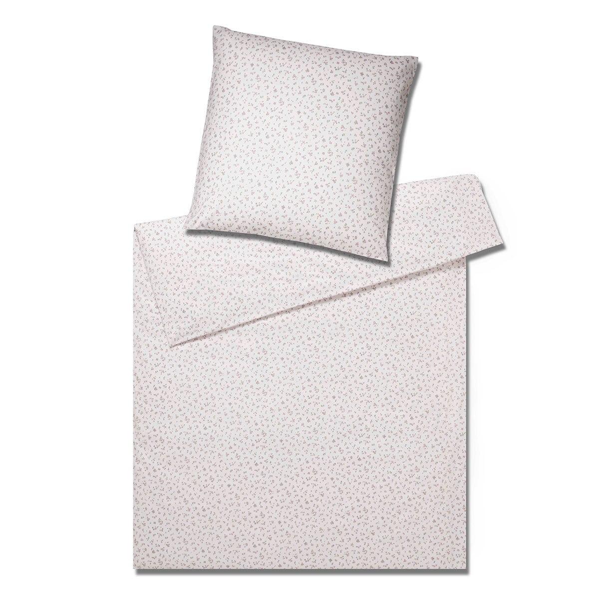 Elegante Soft Flanell Bettwäsche Rosy Rose Günstig Online Kaufen Bei