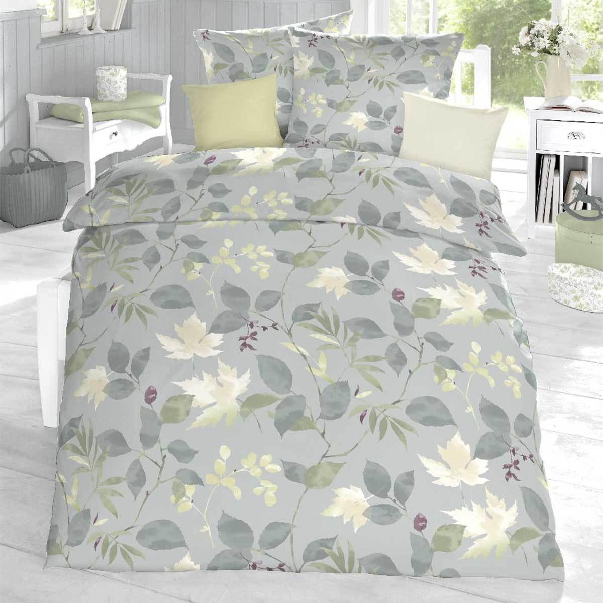 schlafgut soft touch cotton bettw sche cynthia steingr n. Black Bedroom Furniture Sets. Home Design Ideas