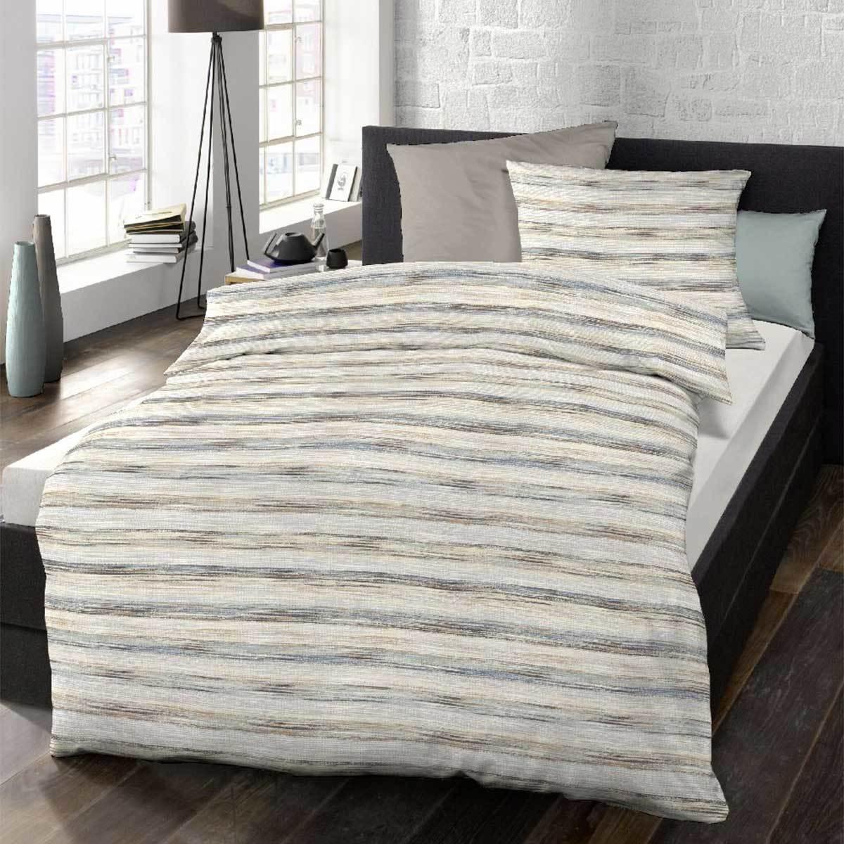 schlafgut soft touch cotton bettw sche maxwell tiramisu. Black Bedroom Furniture Sets. Home Design Ideas