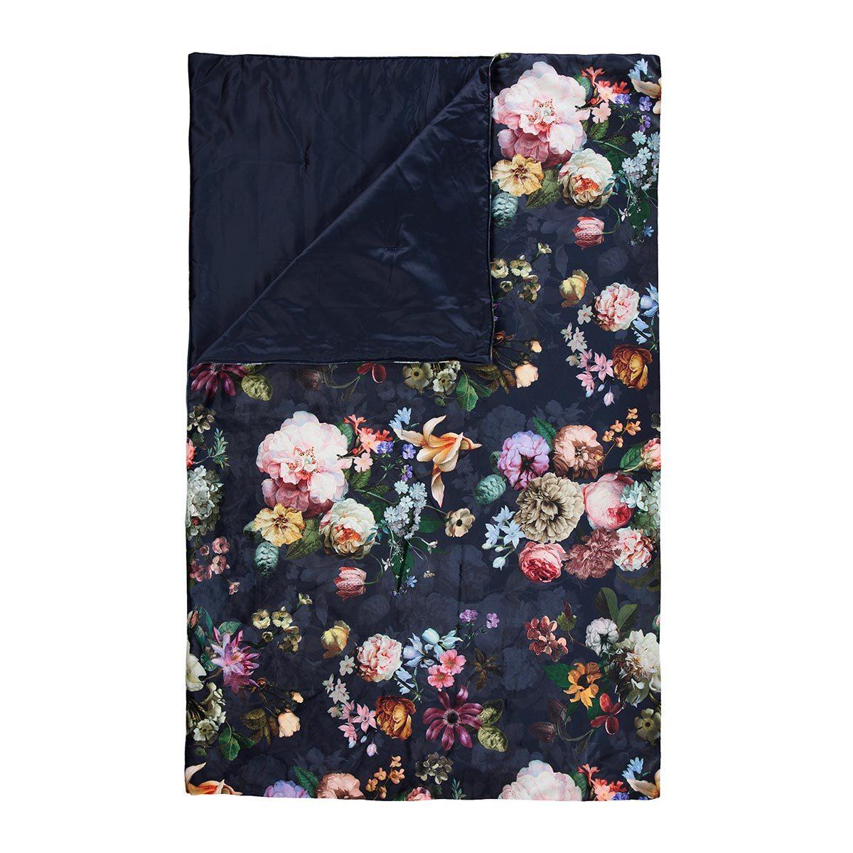 Essenza Tagesdecke Fleur nightblue