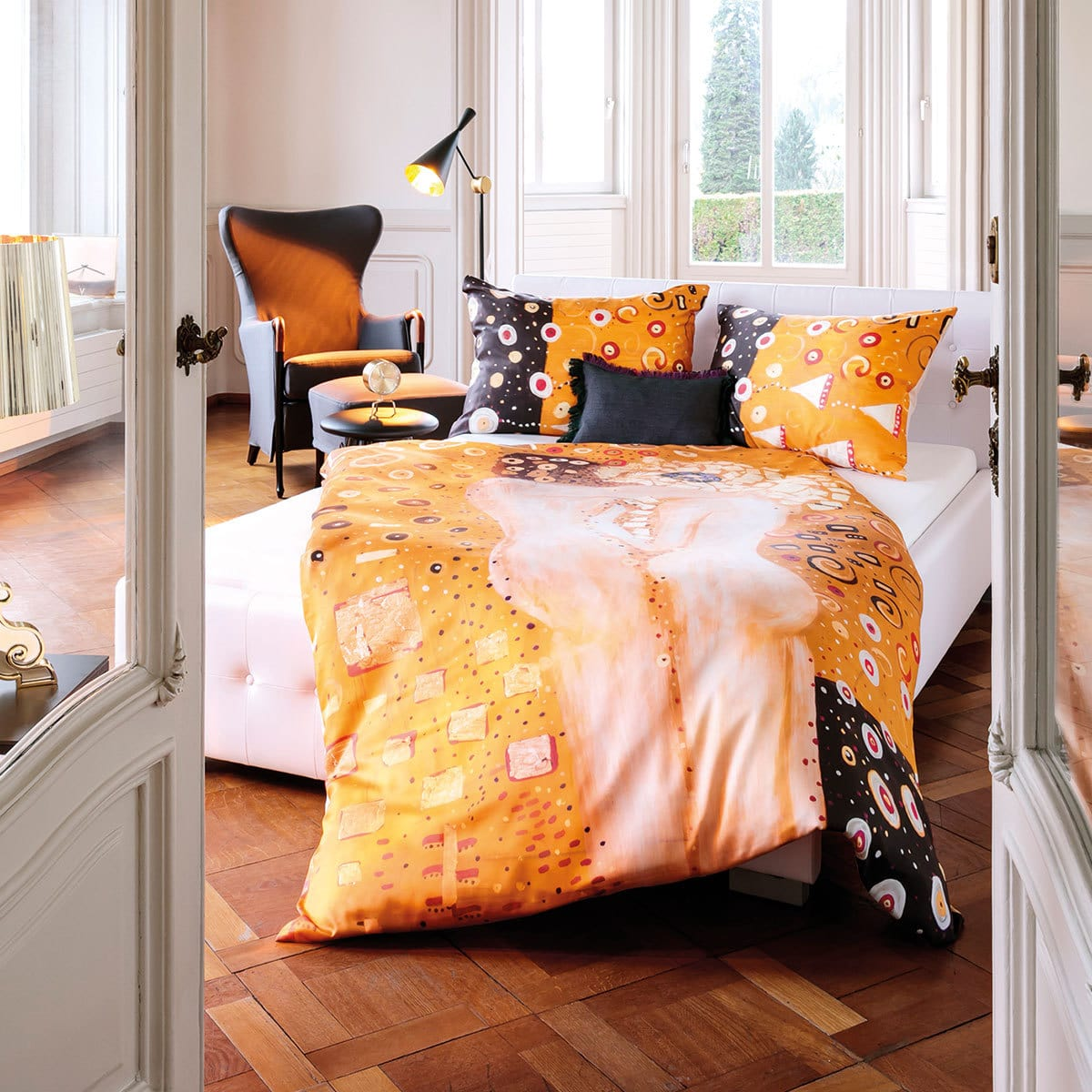 hefel tencel wendebettw sche pure luxury the kiss g nstig online kaufen bei bettwaren shop. Black Bedroom Furniture Sets. Home Design Ideas