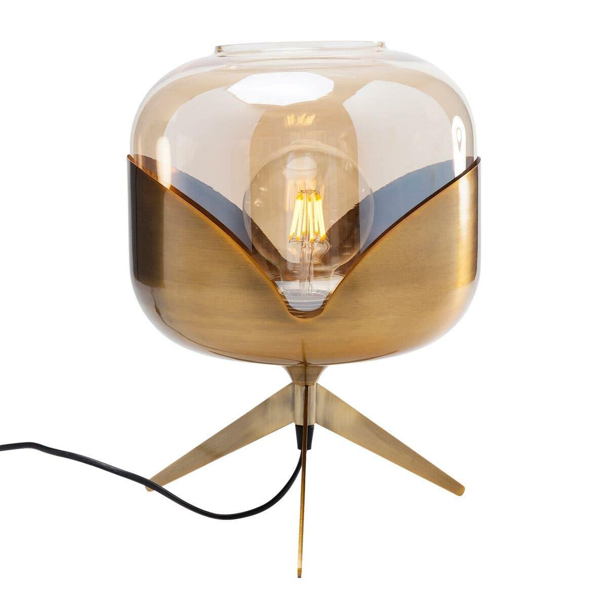 Kare Tischleuchte Golden Goblet Ball