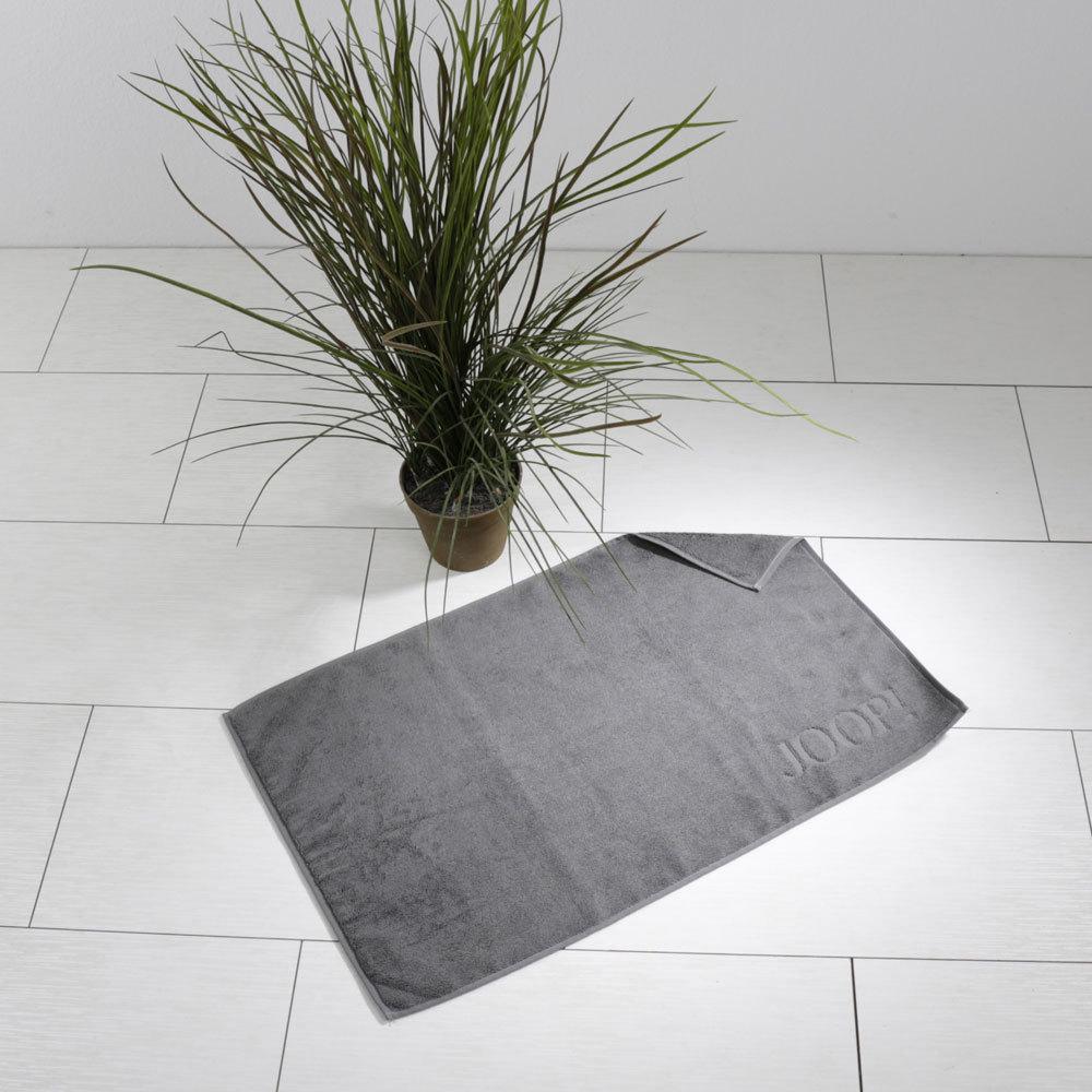joop uni basic badematte schiefergrau g nstig online. Black Bedroom Furniture Sets. Home Design Ideas