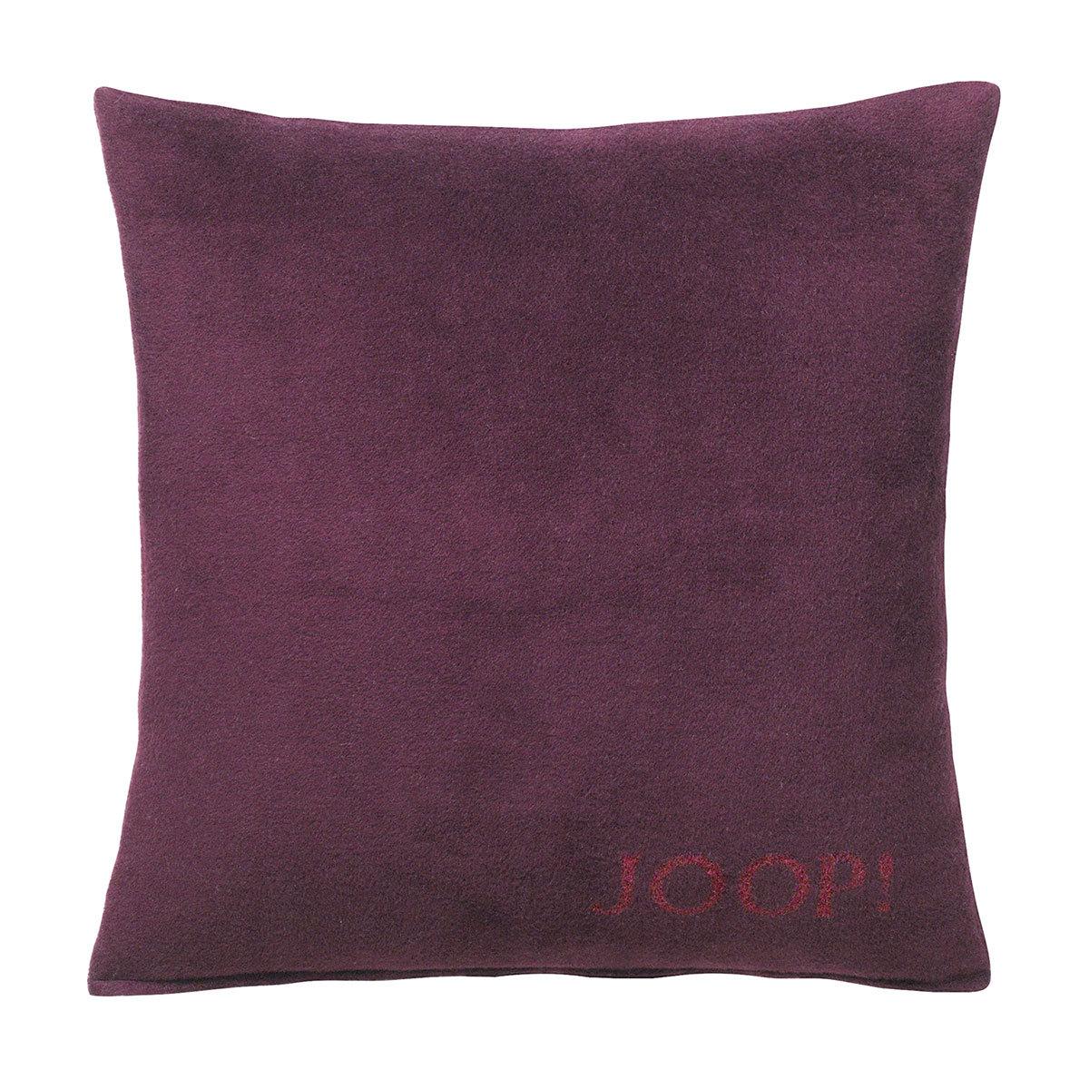joop uni doubleface kissenh lle feige sangria g nstig online kaufen bei bettwaren shop. Black Bedroom Furniture Sets. Home Design Ideas