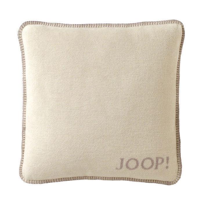 joop uni kissenh lle pergament silberrose g nstig online kaufen bei bettwaren shop. Black Bedroom Furniture Sets. Home Design Ideas