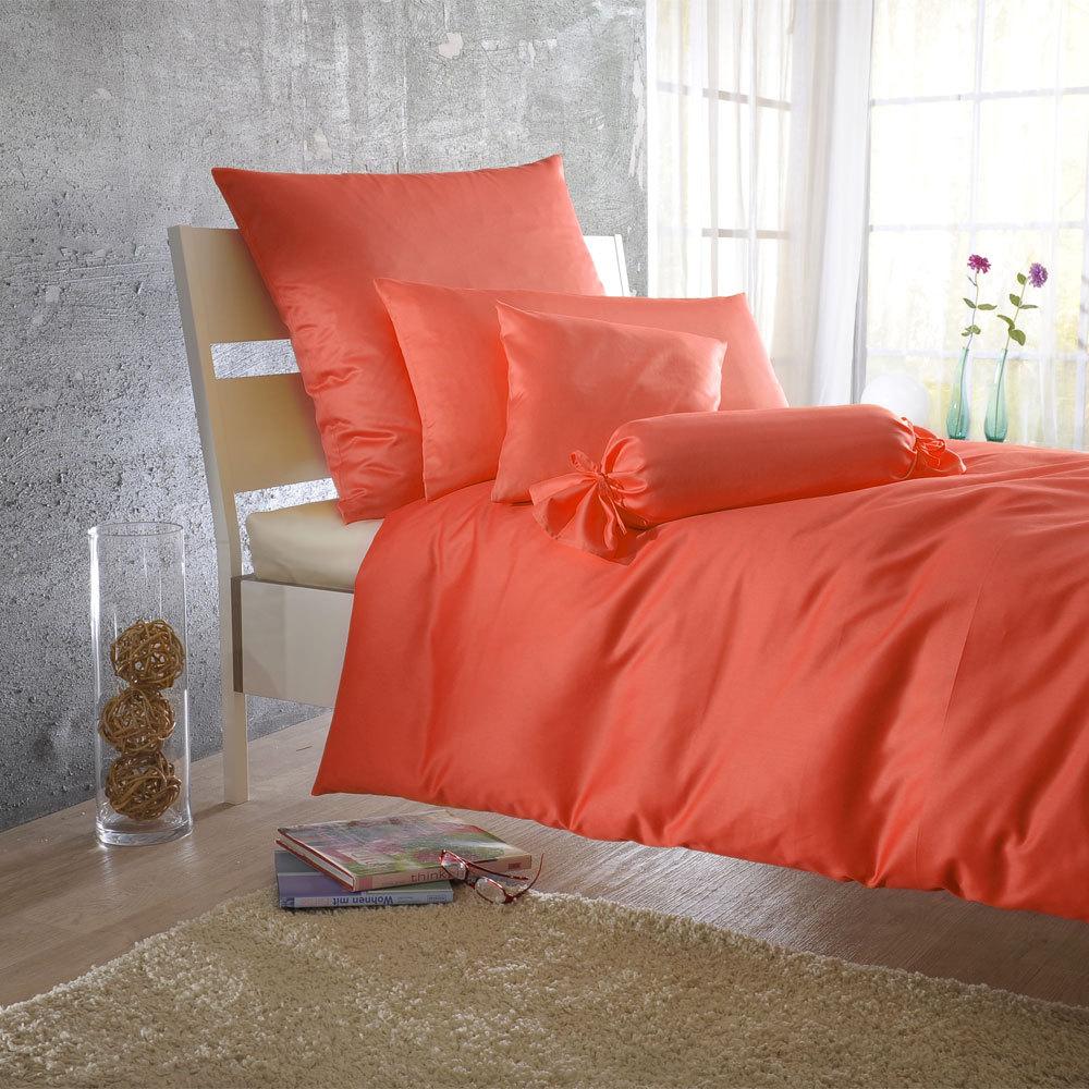 bettwarenshop uni mako satin bettw sche coralle g nstig online kaufen bei bettwaren shop. Black Bedroom Furniture Sets. Home Design Ideas