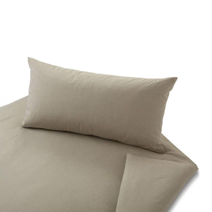 cotonea uni perkal bettw sche chambray pyrit g nstig online kaufen bei bettwaren shop. Black Bedroom Furniture Sets. Home Design Ideas